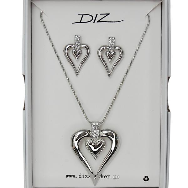 Bilde av Box 1728-R smykkesett hjerte